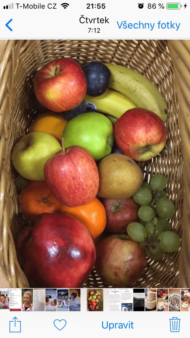 Barevný ovocný týden U pomněnky