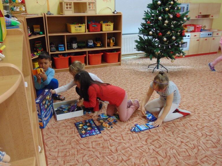 Vánoční nadílka u SLuníček