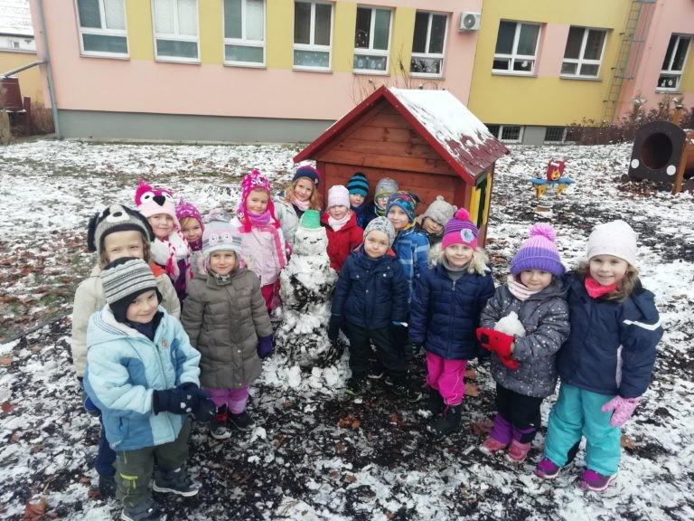 První sněhuláček – U pampelišky