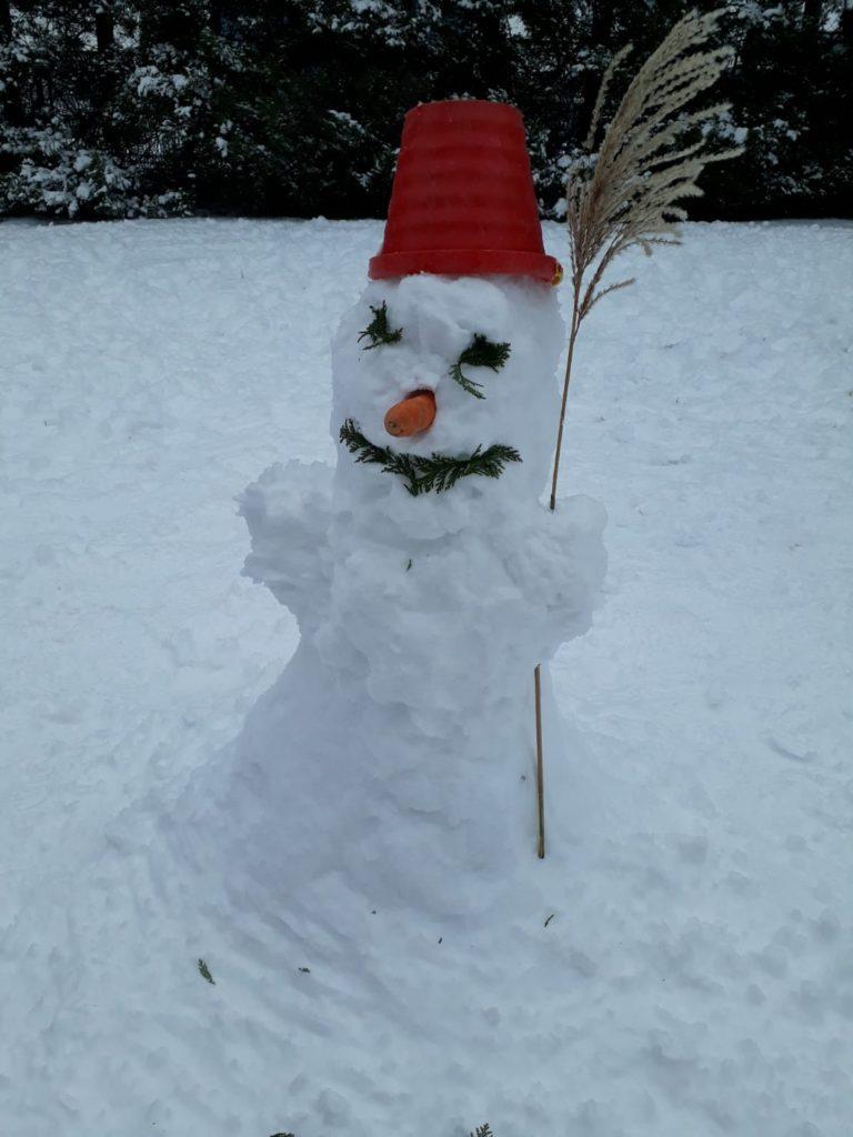 U sněženky-Sněhuláček