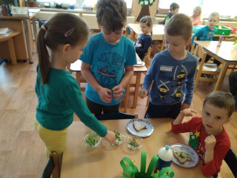 Péče o sazeničky – Předškoláci U pampelišky