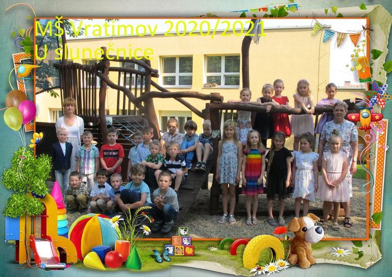 Společné focení dětí 2020/2021