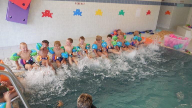 Plavání s žabičkou-1.lekce